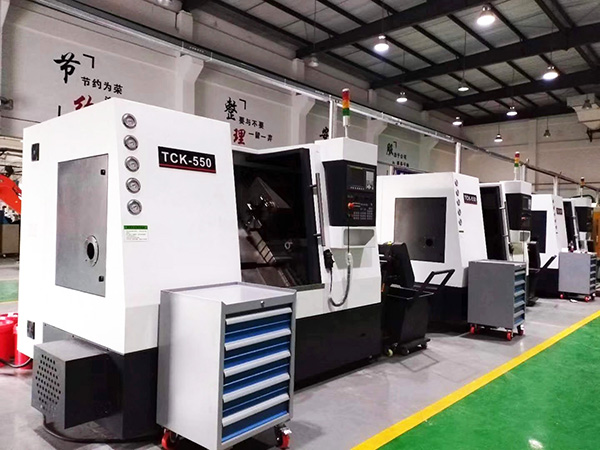 CNC LATHE MACHINERY WORKSHOP 01