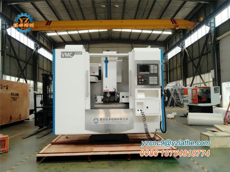 VMC650 CNC MILLING CENTER